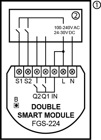 Fibaro Switch 224