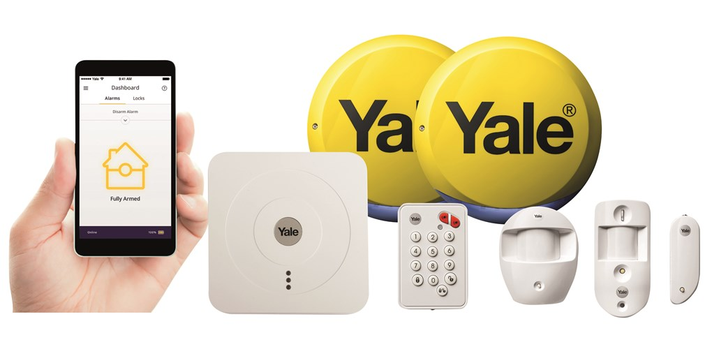 Yale Alarm Kit with app